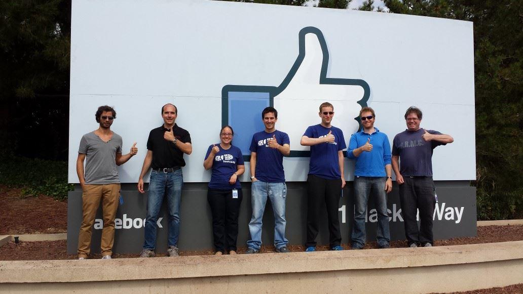 The Monoidics team at Facebook, CA